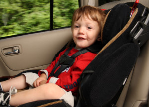Sicherheit am Kindersitz