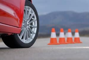 Ist der PKW überladen, so wird die Verkehrssicherheit beeinträchtigt