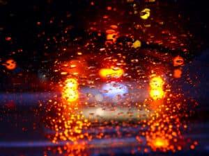 Die Beleuchtung des Autos ist nachts besonders wichtig.