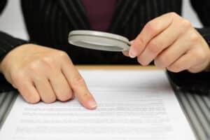 Das Bußgeldschreiben ist ein formalisierter Text und dennoch kann er immer mal wieder Fehler enthalten.