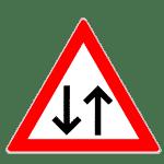 Zeichen 125: Gegenverkehr