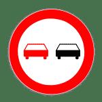 Zeichen 276: Überholverbot für Kraftfahrzeuge aller Art