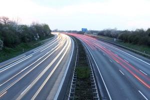 Die Höchstgeschwindigkeit in Spanien auf der Autobahn beträgt 120 km/h.