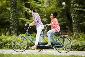 Für das Fahren auf dem Fahrrad droht eine Strafe, wenn es nicht verkehrssicher ist.