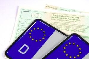 Das Wechselkennzeichen wurde 2012 in Deutschland eingeführt.