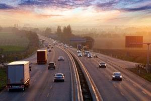 Falschfahrer: Auf der Autobahn kommen Falschfahrten häufig vor.