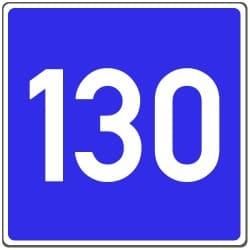 Das Schild für Richtgeschwindigkeit wurde inzwischen ersatzlos gestrichen.