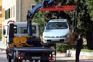Beispiel für eine Ordnungswidrigkeit: Falsches Parken.