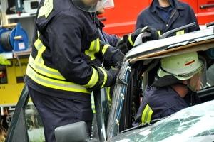 Das eCall-System ermöglicht Rettungskräften eine schnelle Handlungsweise nach einem Unfall