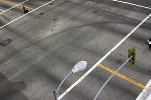 Aufgrund einer Beschädigung der Kabel unter der Fahrbahndecke kann es beim Multanova zu Messfehlern kommen.