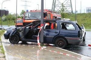 Wer bei einem Unfall nicht angeschnallt ist, hat ein höheres Verletzungsrisiko.