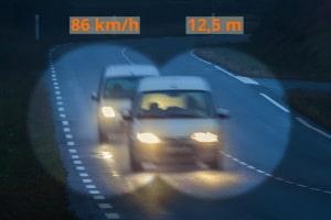 Wann zieht das Ergebnis der Abstandskontrolle ein Bußgeld, Punkte in Flensburg und ein Fahrverbot nach sich?